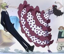 Viola Kicks Sanji