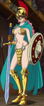 Rebecca's Gladiator Outfit