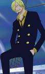Sanji's Initial Outfit Post Timeskip