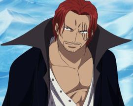 Shanks en el anime