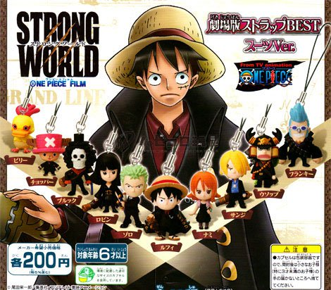 Strong World Cellphone Straps