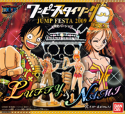 One Piece Styling Figures Jump Festa 2009