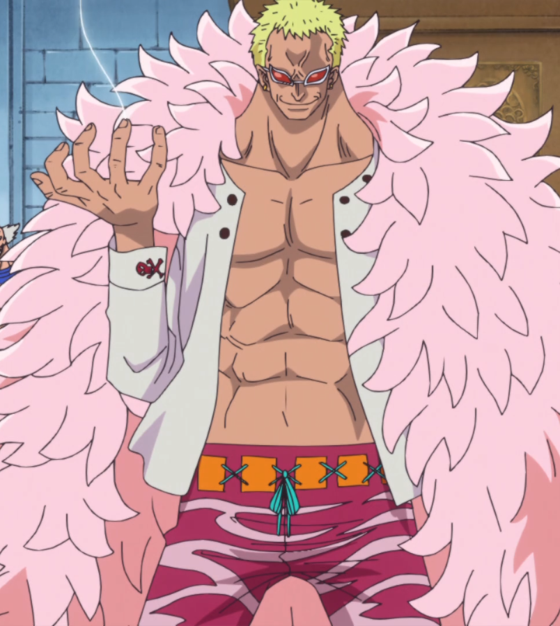 Donquixote Doflamingo in the anime