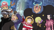 Law is Shocked at Straw Hat Antics