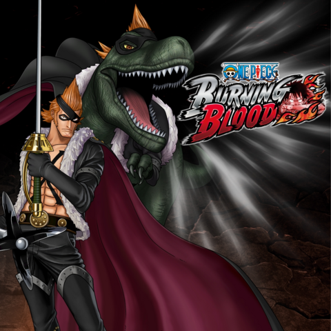 File:One Piece Burning Blood X Drake (Artwork).png