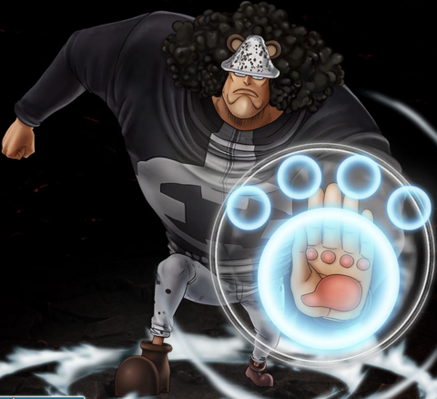 File:One Piece Burning Blood Bartholomew Kuma (Artwork).png