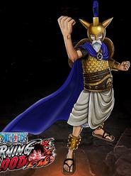 One Piece Burning Blood Golden Armor Luffy (Artwork)