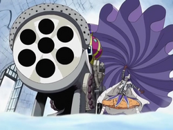 Royal Drum Crown 7-Shot Bliking Cannon Infobox