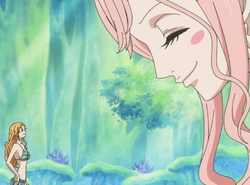 Shirahoshi Befriends Nami