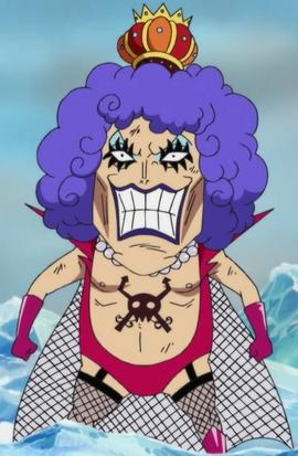 Emporio Ivankov en el anime