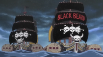 Blackbeard Pirates Post Timeskip Ships