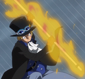 Sabo's Flaming Pipe