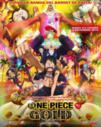 One Piece Film Gold CA Poster