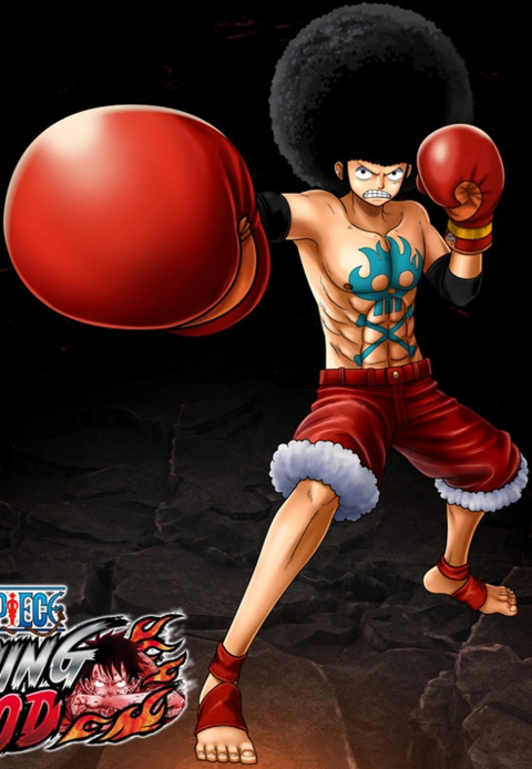 File:One Piece Burning Blood Afro Luffy (Artwork).png