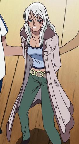 Nico Olvia en el anime