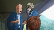 Genos annoying Saitama