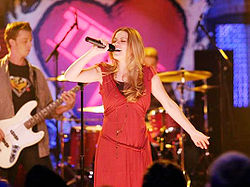 Haley performs at tric