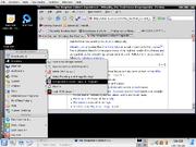 Kubuntu desktop screencapture