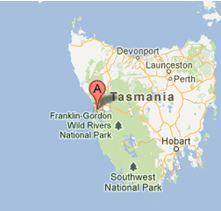 Location-gordonriver-tasmania
