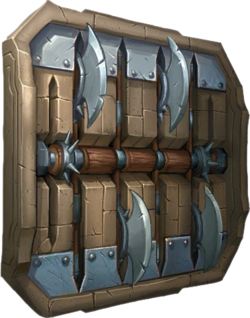 Trap Blade Wall
