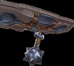 Weapon Swinging Mace