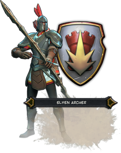 Elf Archer Render