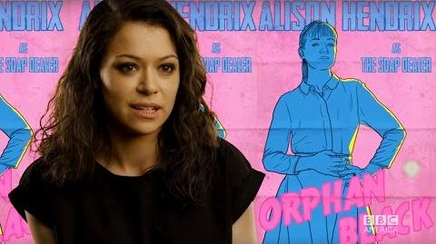Tatiana Maslany introduces the Orphan Black Season 4 Fan Art Poster Contest