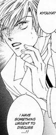 Tamaki calling kyouya
