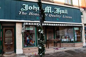 John M Hall