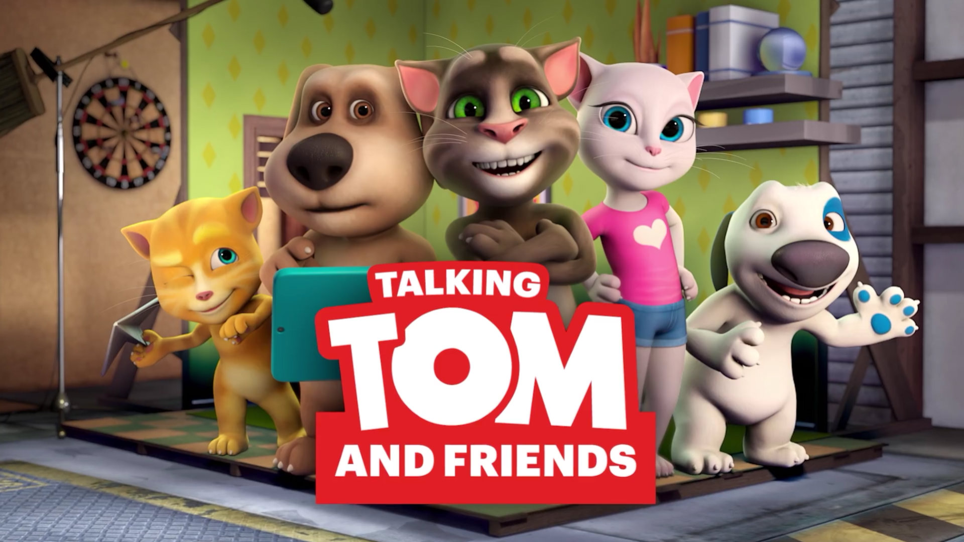 Talking tom and friends talking friends wiki fandom - My talking tom pictures ...