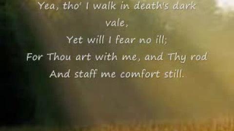 The Lord's My Shepherd - Hymn