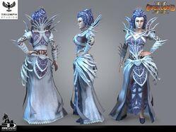 Queen Fay CG Model