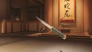 Genji sparrow wakizashi