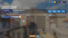 Game browser custom game sample