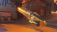 Winston classic golden teslacannon