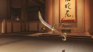 Genji nomad golden wakizashi