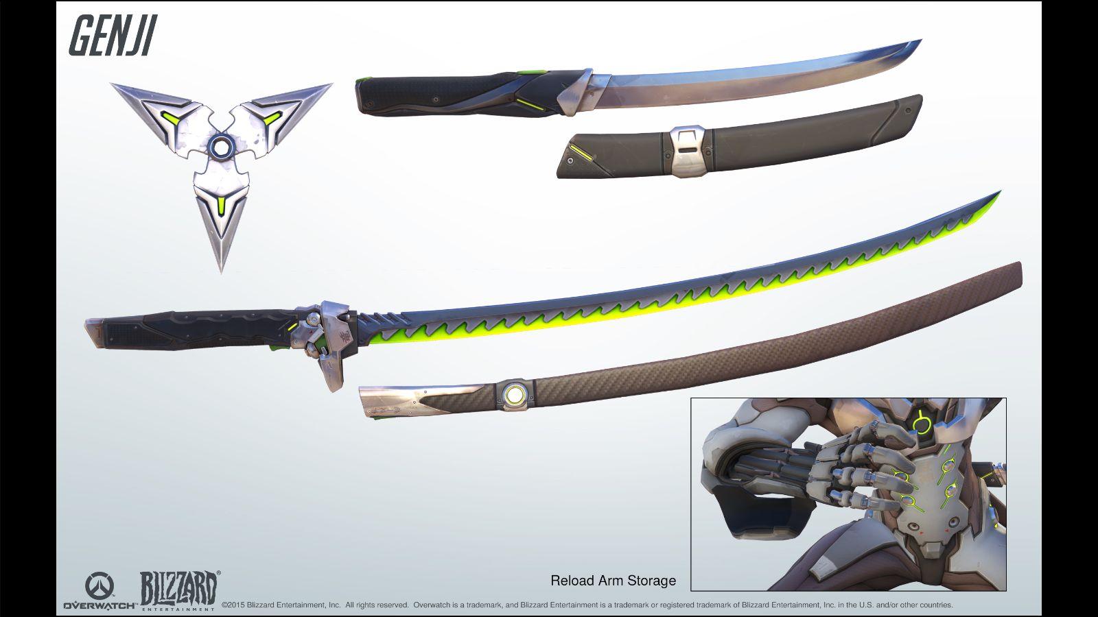Как сделать меч гэндзи