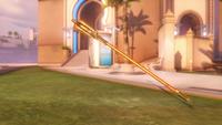 Mercy classic golden caduceusstaff