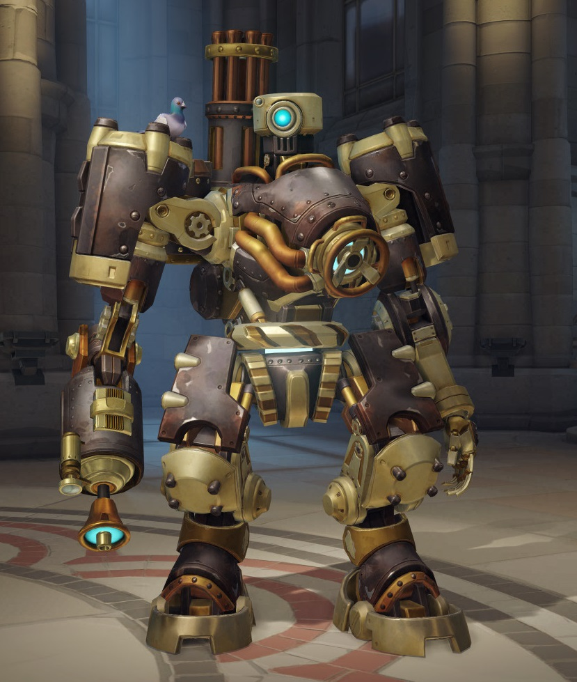 Image - Bastion steambot.jpg | Overwatch Wiki | FANDOM