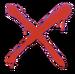 Spray - Red X