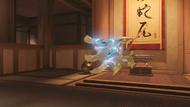 Genji bedouin golden shuriken