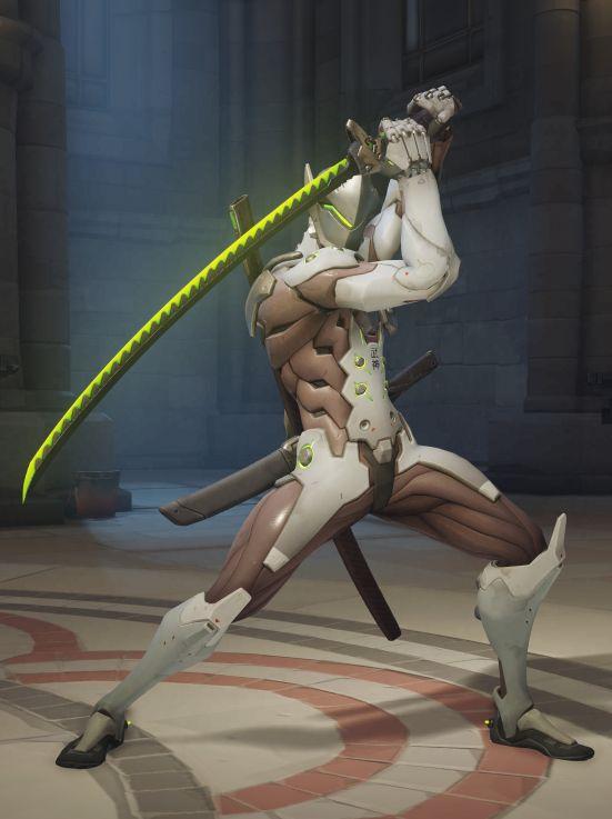 Image Genji Sword Stance Jpg Overwatch Wiki Fandom