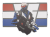 Soldier 76 Spray - American Hero