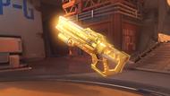 Soldier76 immortal golden heavypulserifle