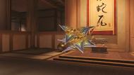 Genji ochre shuriken