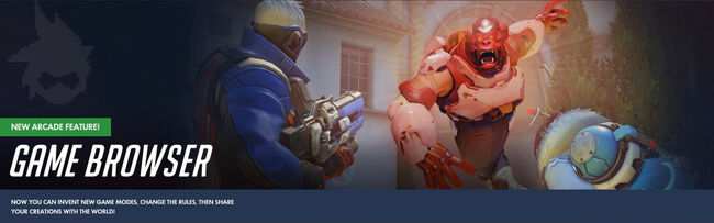 Game browser banner