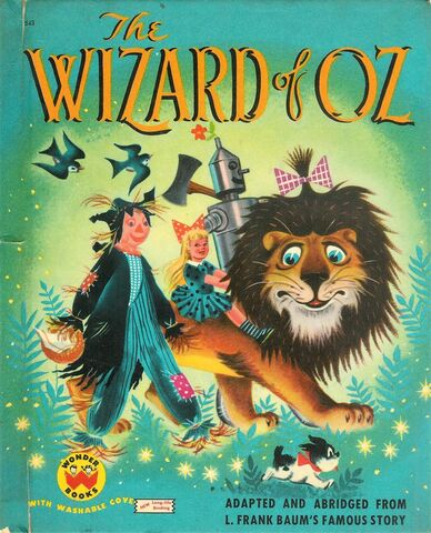 File:The Wizard of Oz book cover (Wonder Books, with washable covers 543).jpg