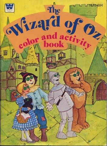 File:The Wizard of Oz book cover (Whitman Publishing, color and activity book).jpg