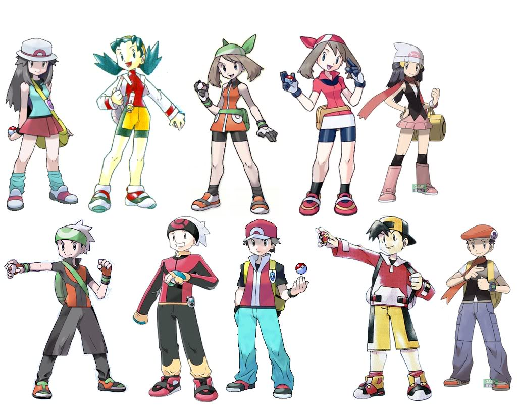 Pokemon Gen 6 Anime Characters : Pokémon trainer heroes wiki fandom powered by wikia