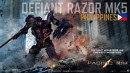 Defiant Razor MK5